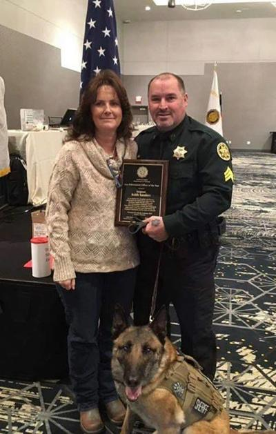 Officer of the year: Sanders wins Legion honor | Local ...