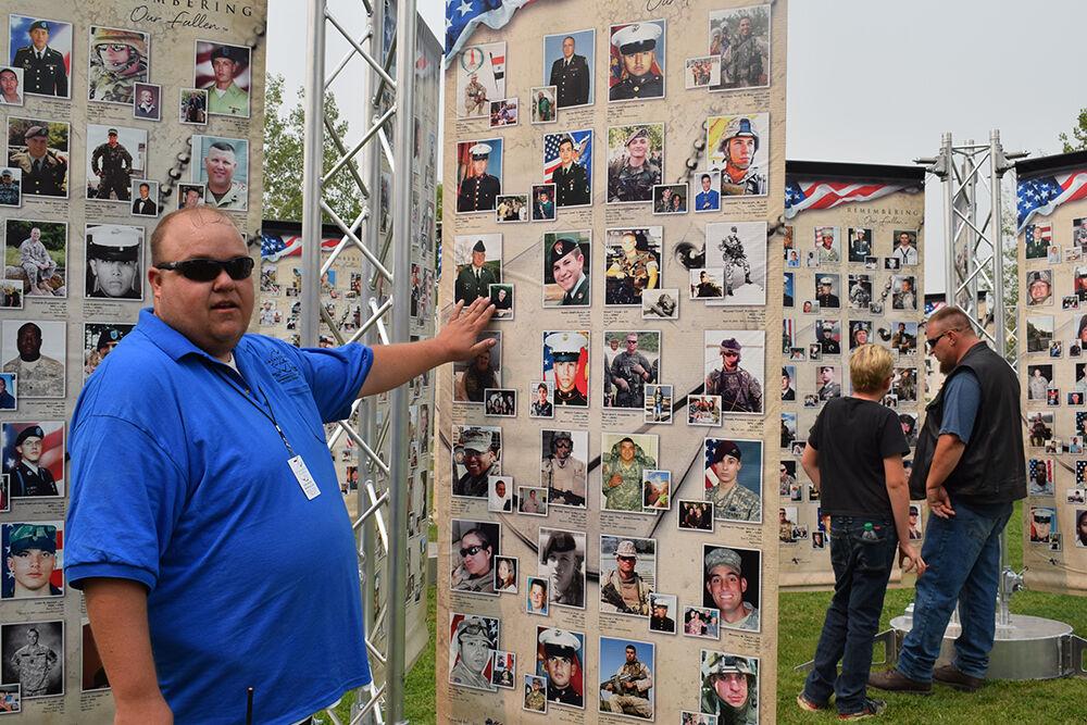 PHOTOS: Memorial Wall stops in Montrose