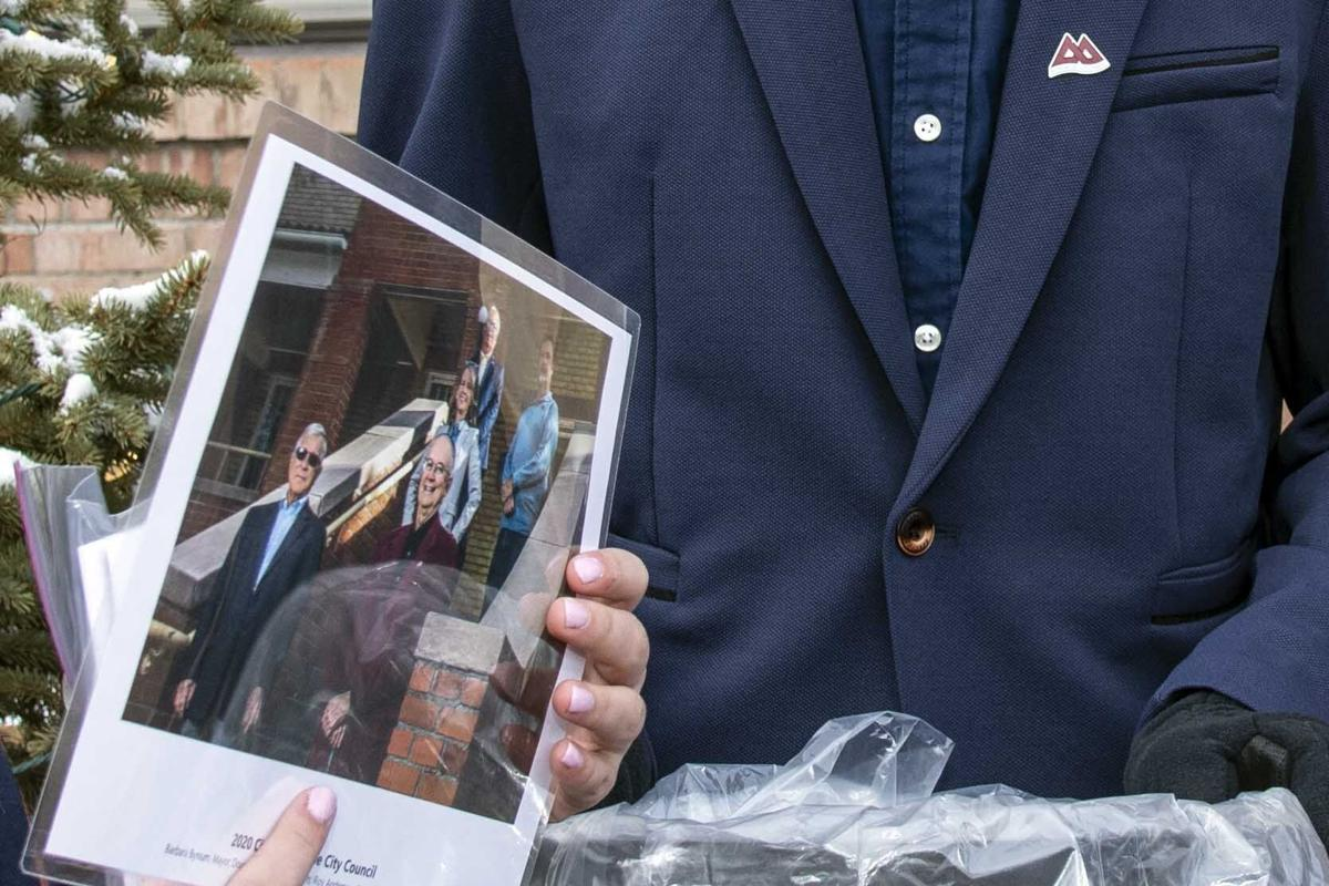 PHOTOS: 50-year time capsule buried in front of City Hall