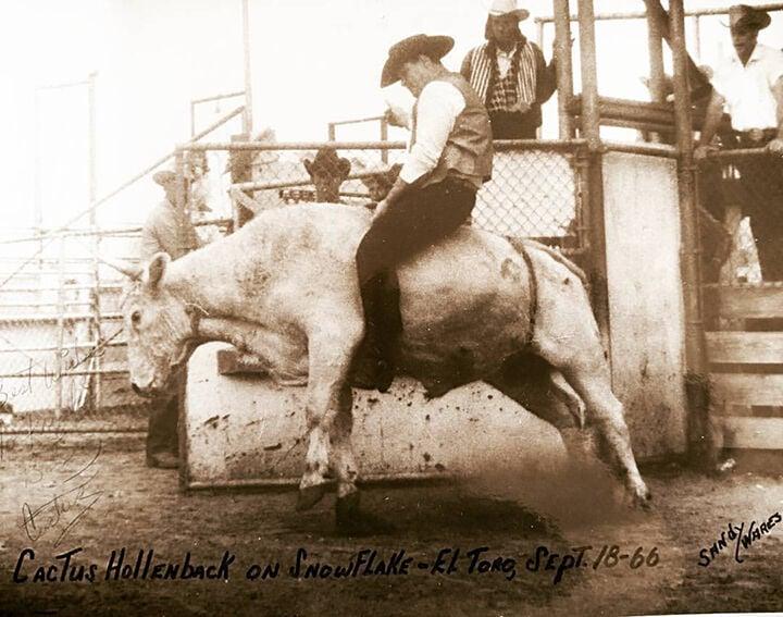 Gerald Hollenback bullriding