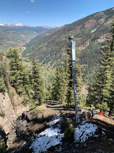 New avalanche-control system installed on Lizard Head Pass