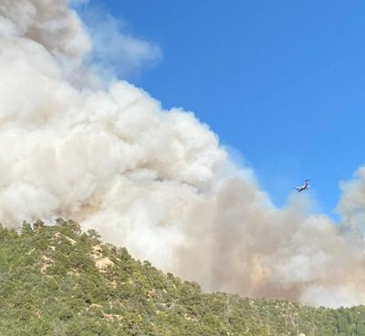 Fire risk grows amid hot and dry conditions