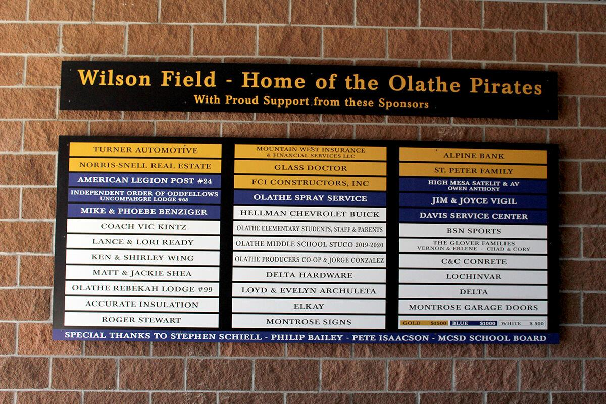 PHOTOS: OMHS Wilson Field renovation completed