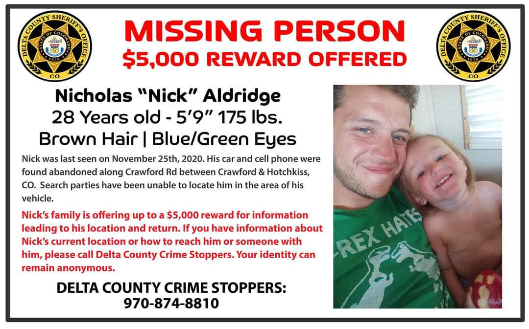 Man, woman missing from Delta County in separate disappearances