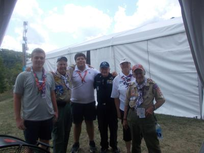 Area adult leaders attending the World Scout Jamboree