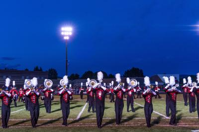 The Montrose High School Marching Band