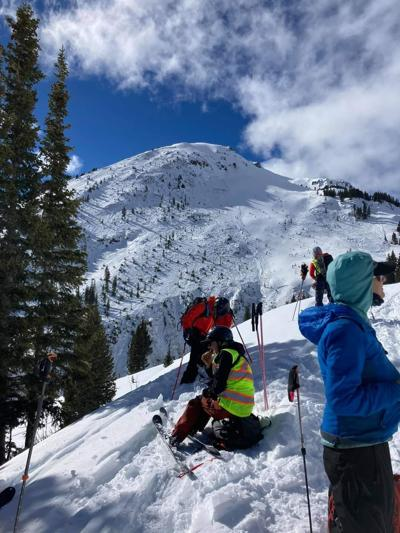 Search for 3 swept away in avalanche put on hold