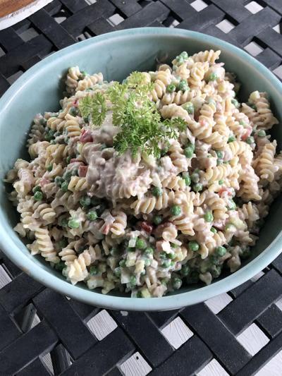 Dave Frank tuna pasta salad