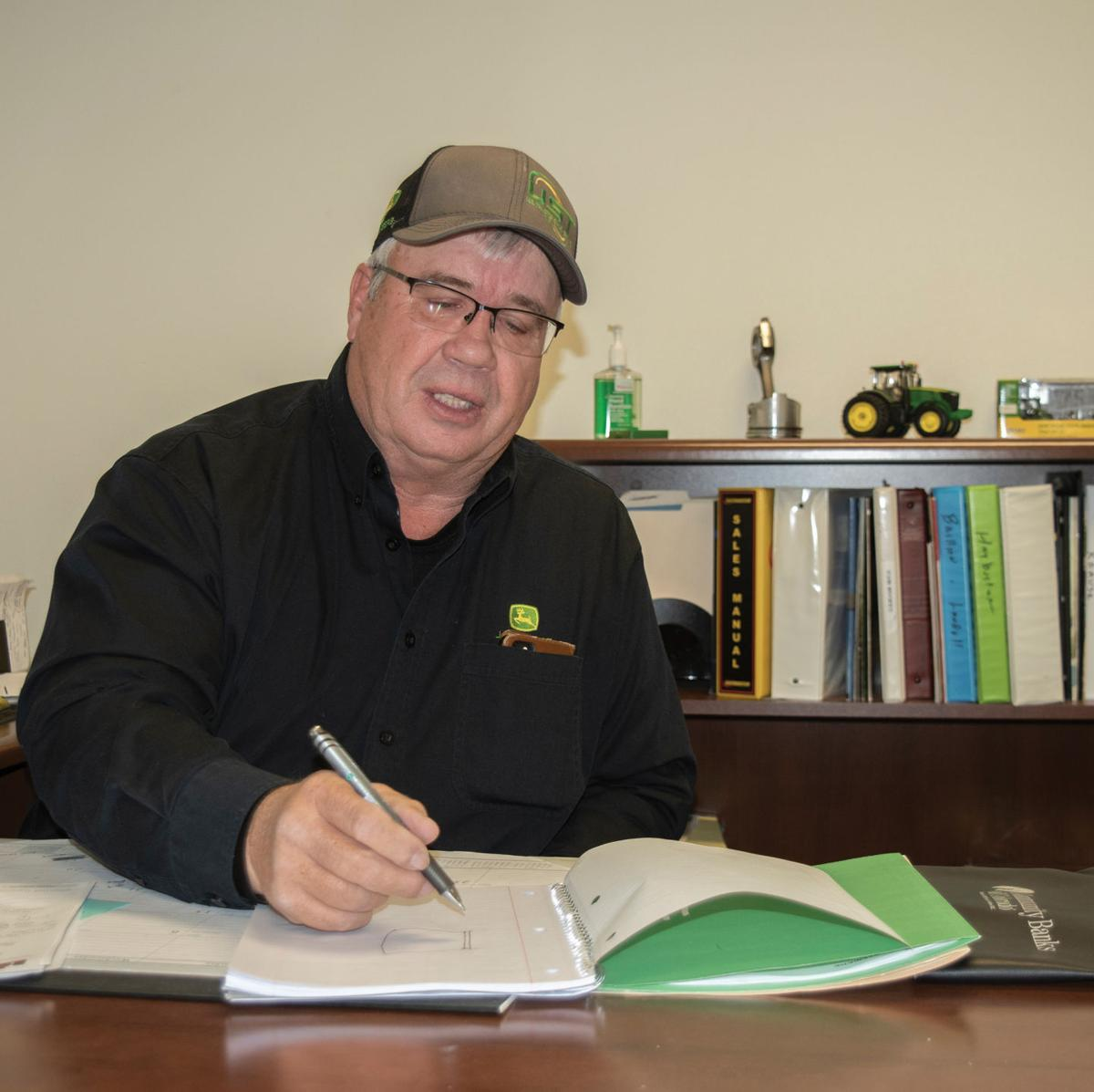 Montrose US Tractor and Harvest Manager Kirk Smith