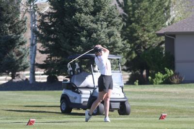 Montrose girls golf Siera Mihavetz