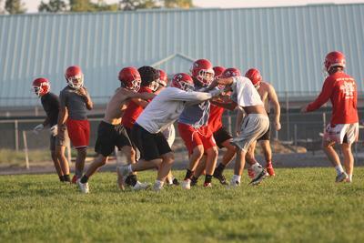 MHS fall football practice Sept. 24
