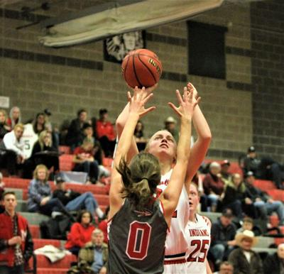 Lady Indians' post play help team secure victory over Warriors
