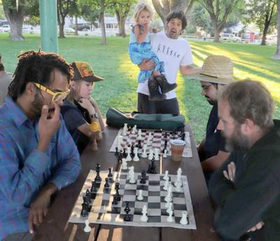 Chess game in Paonia