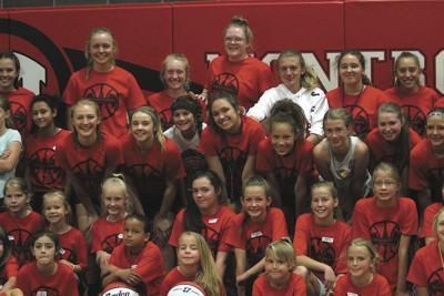 Montrose High School girls basketball