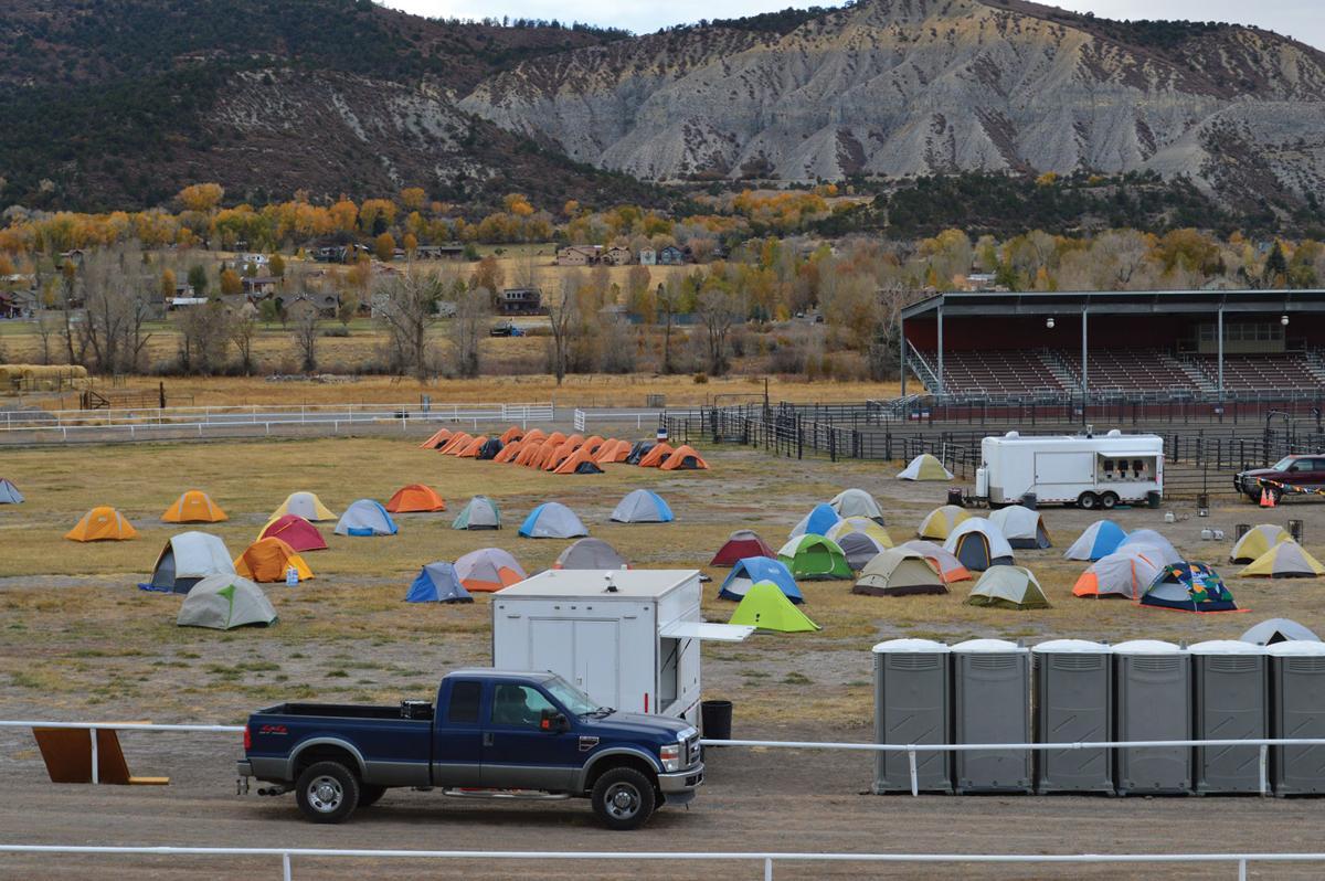 Cow Creek fire camp 2019