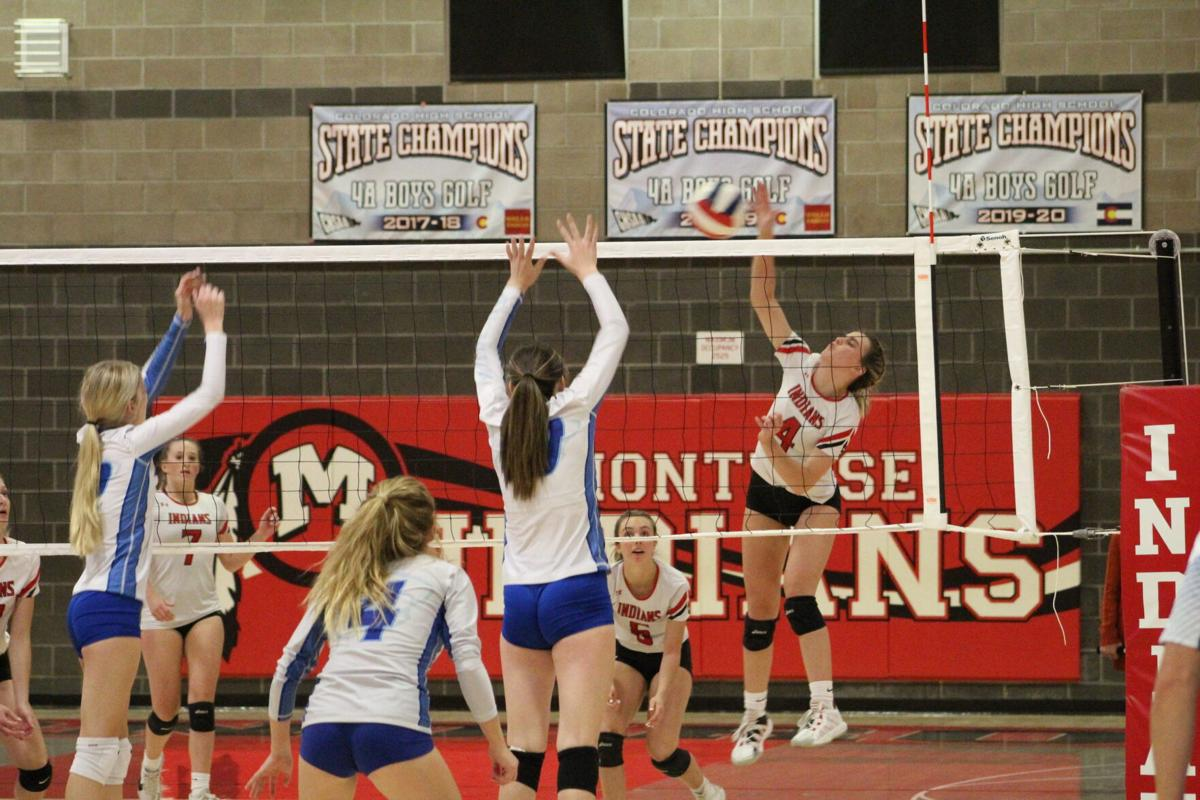 MHS volleyball Kelsey Rocco v Fruita