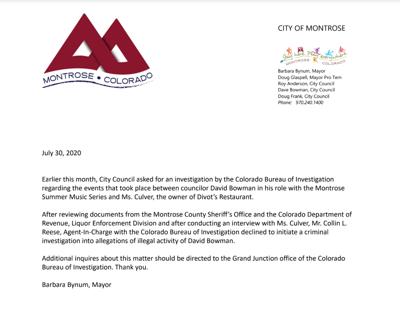 Mayor Statement