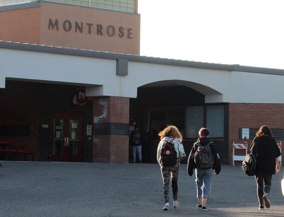 Students at Montrose High School