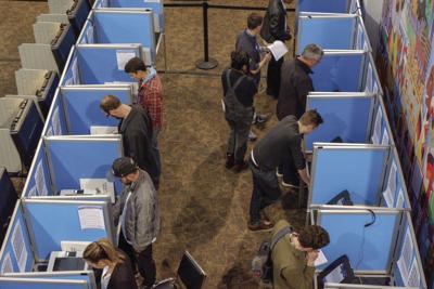 Denver voters cast ballots on Nov. 8, 2018