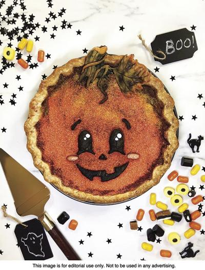 FOOD: Decorate a festive pie for Halloween party fun