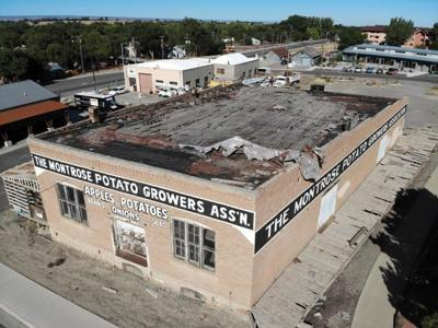 City mulls grant for historic Potato Growers building