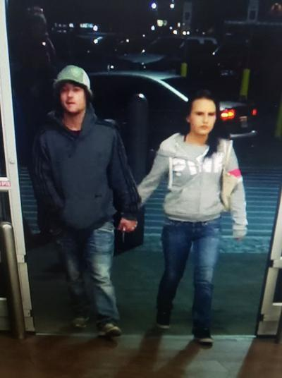 Police seek suspects in reported robbery at Walmart