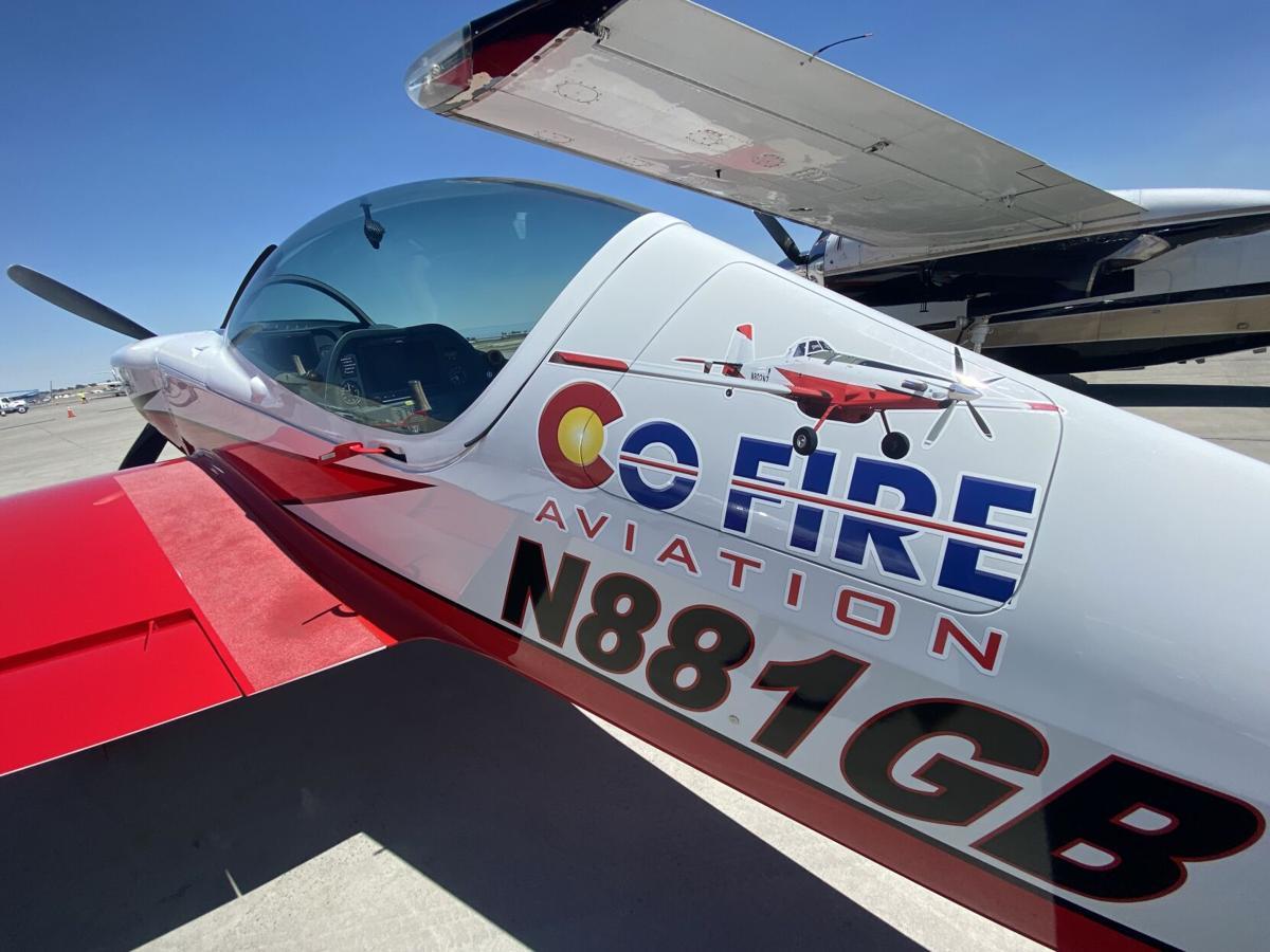 CO Fire aviation plane