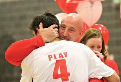Imus and family honored before matchup against Fruita