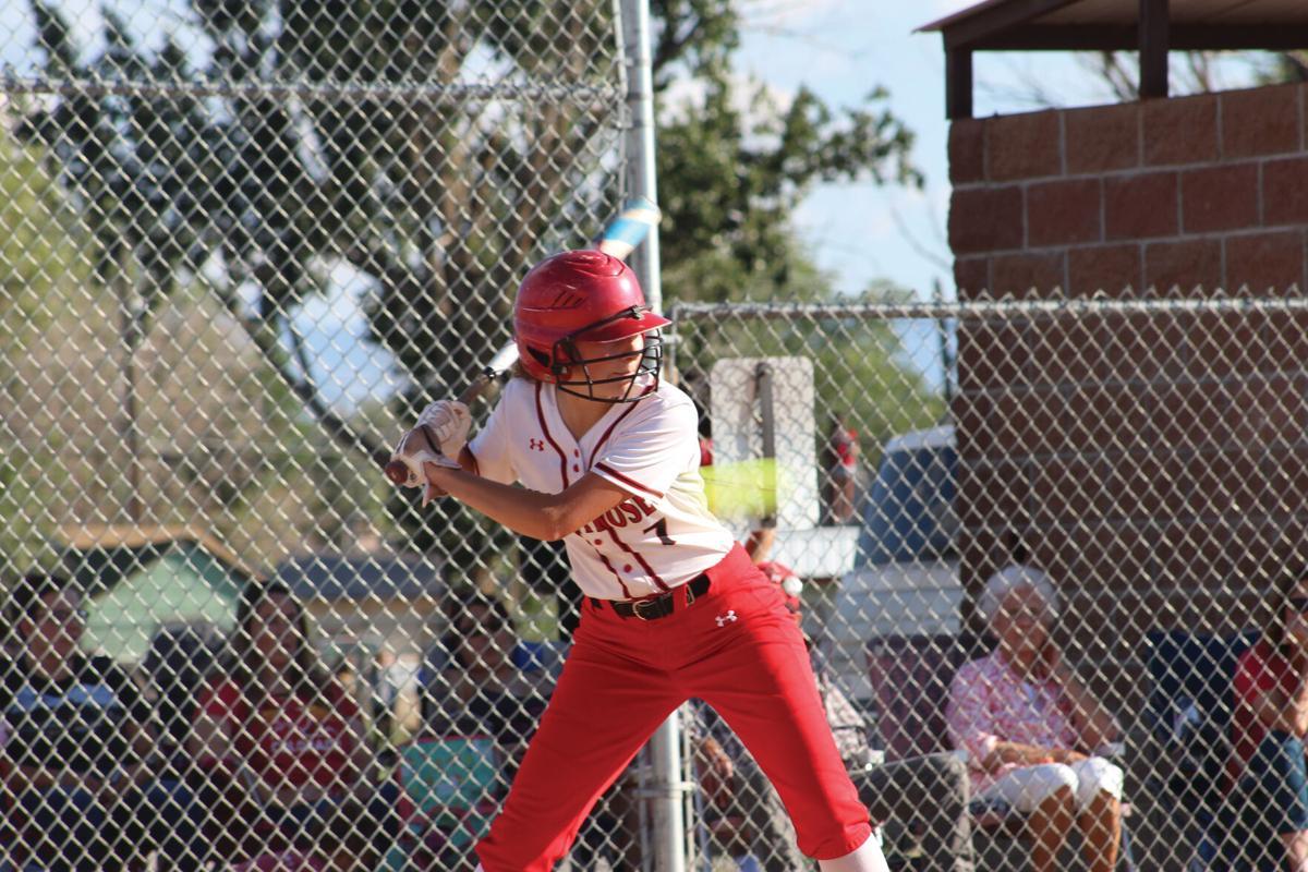 MHS softball Savanah Piquette v Delta