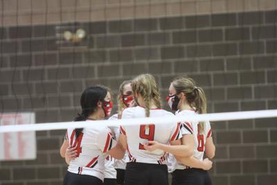 Montrose volleyball 2021 team