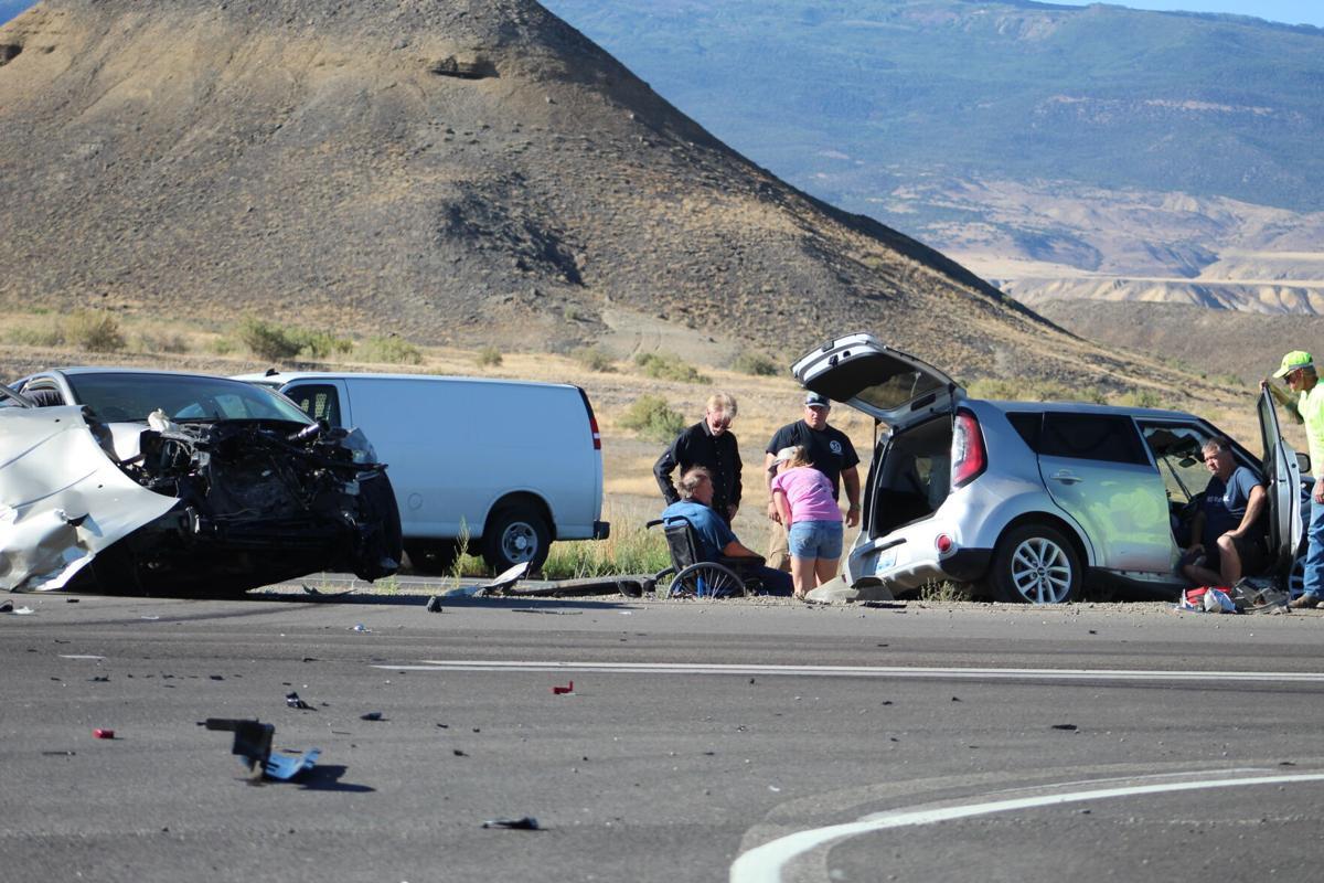 Two vehicle crash Aug 7