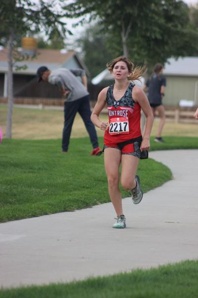 MHS cross country Trinity Thomson at Mead