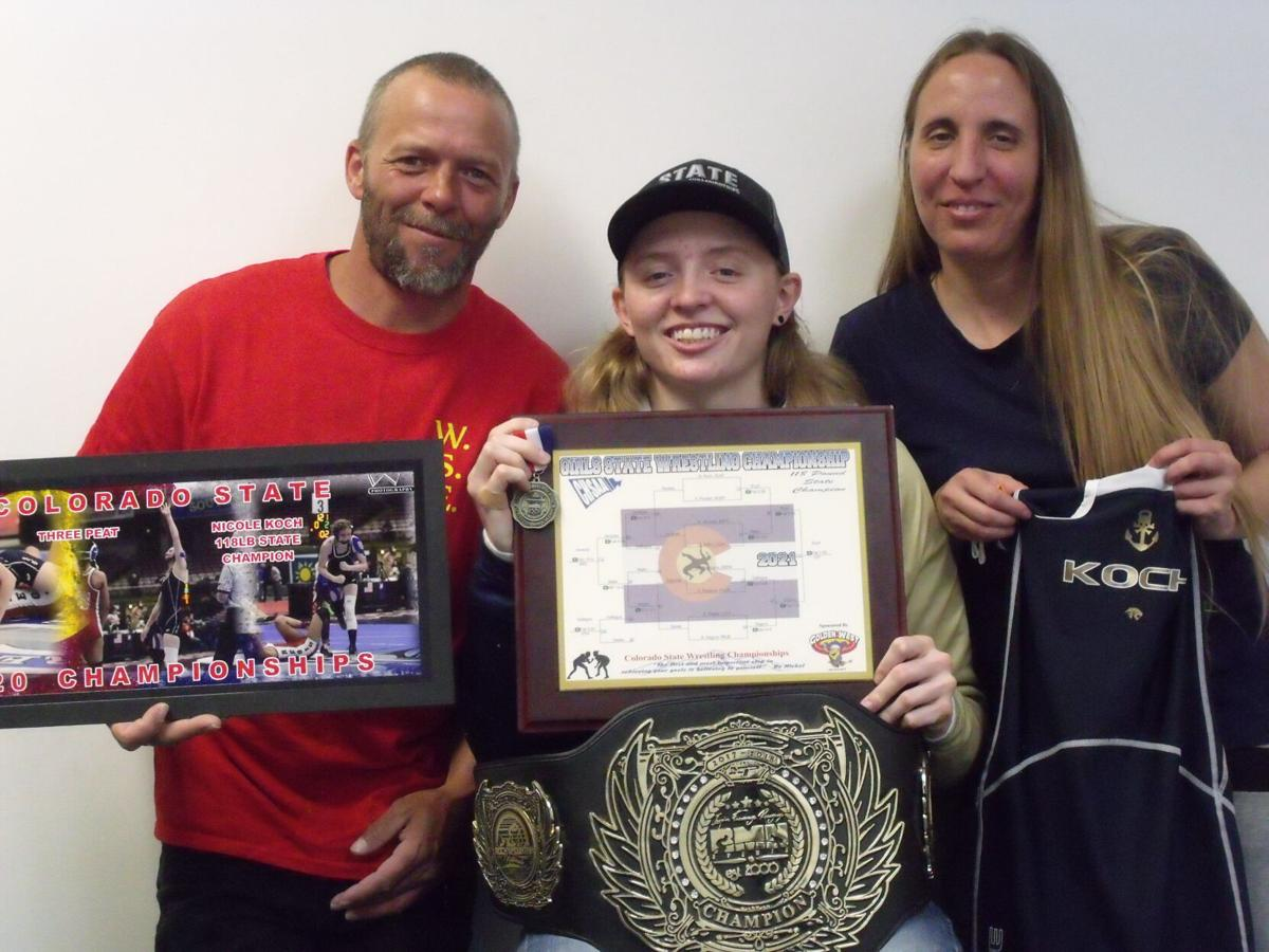 Unique Delta High School wrestler seeks her fourth state championship