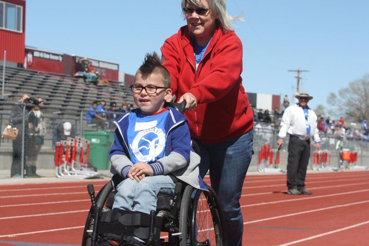 Special Olympics participants enjoy day of events after honoring the 'Fearsome Three'