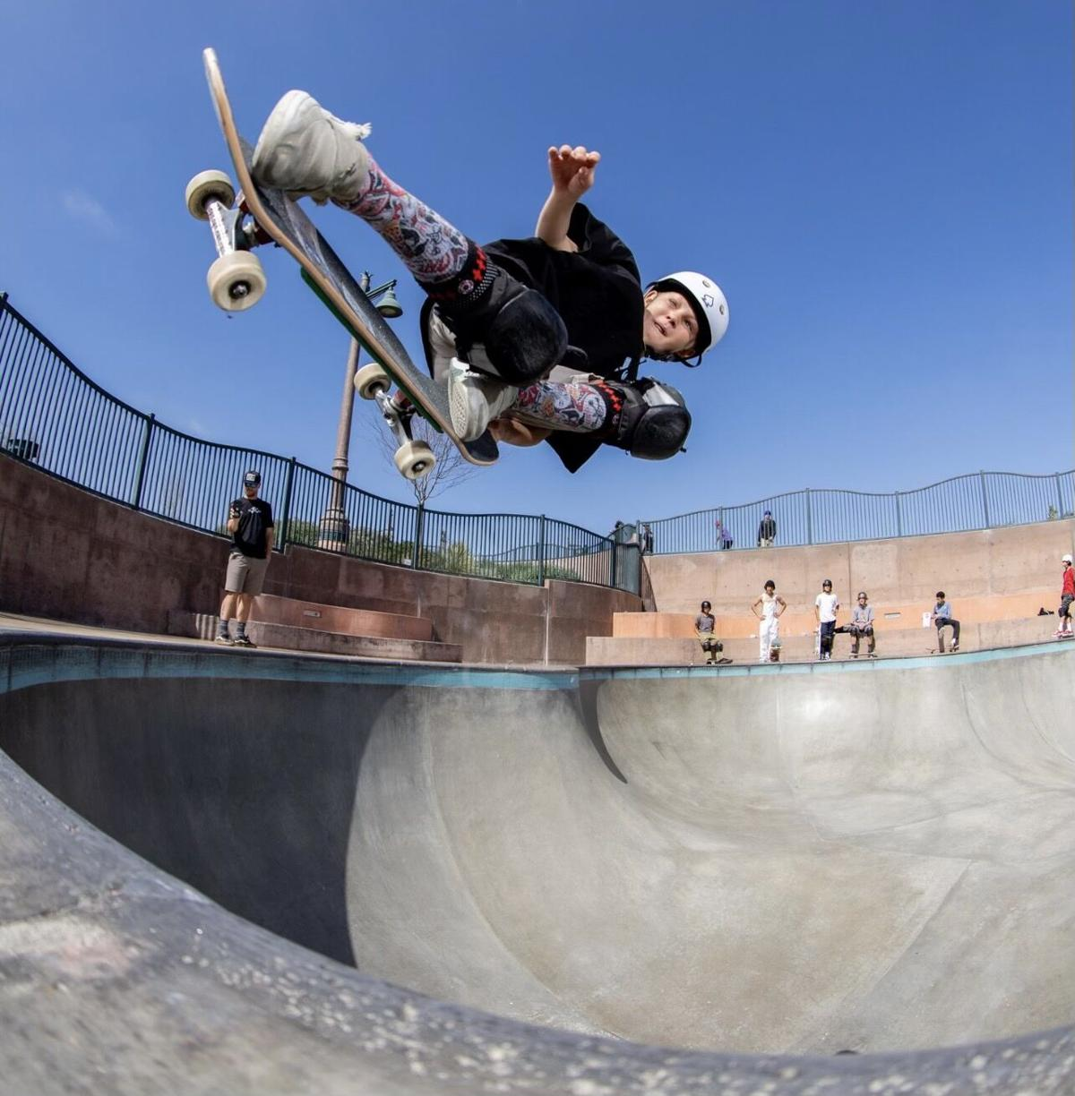 Meet Ollie Graves, the 11-year-old Ridgway skateboarder who's quickly become a name to watch