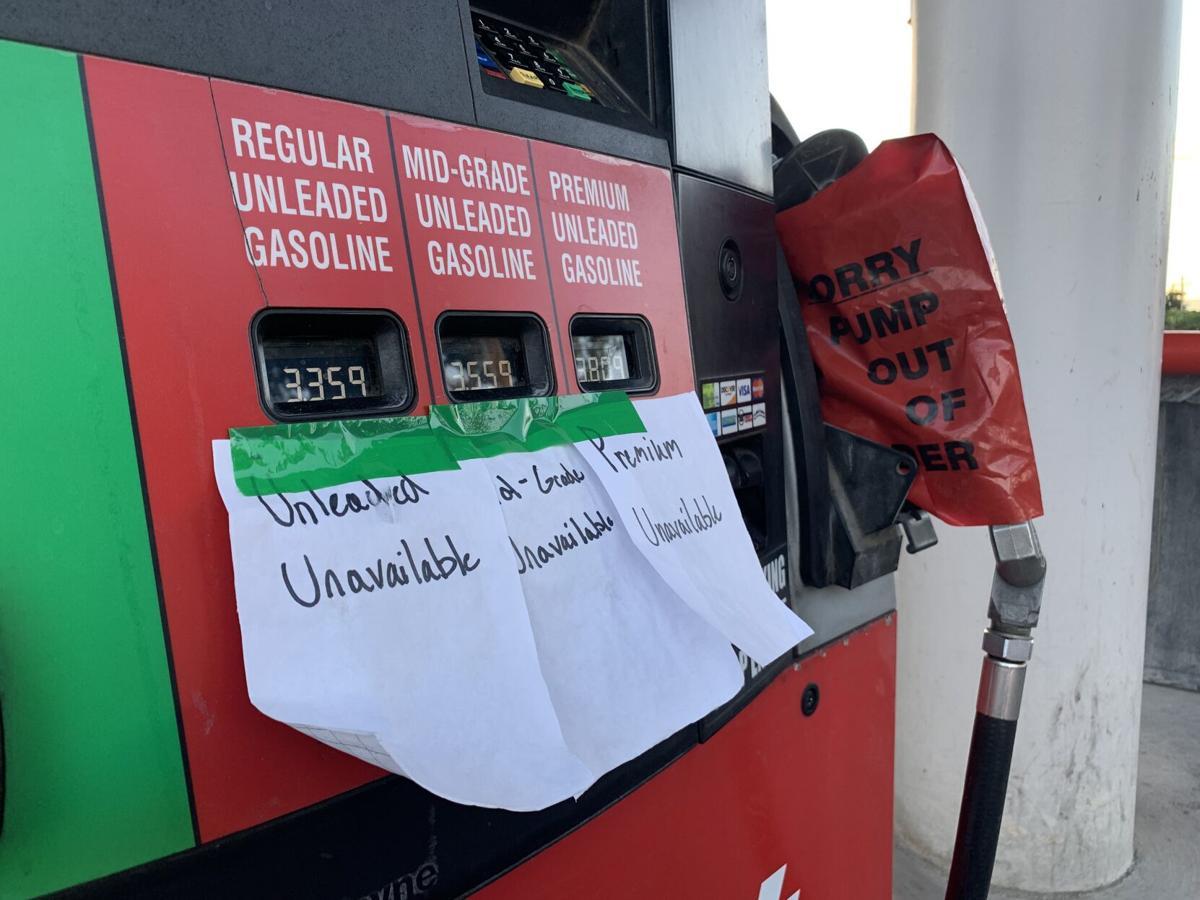 Unavailable gas noes at City Market