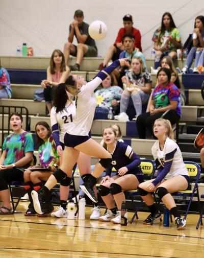 OHS volleyball Kiandra Liles v North Park