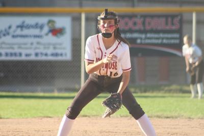 MHS softball Baeli Minerich v Grand Junction Central