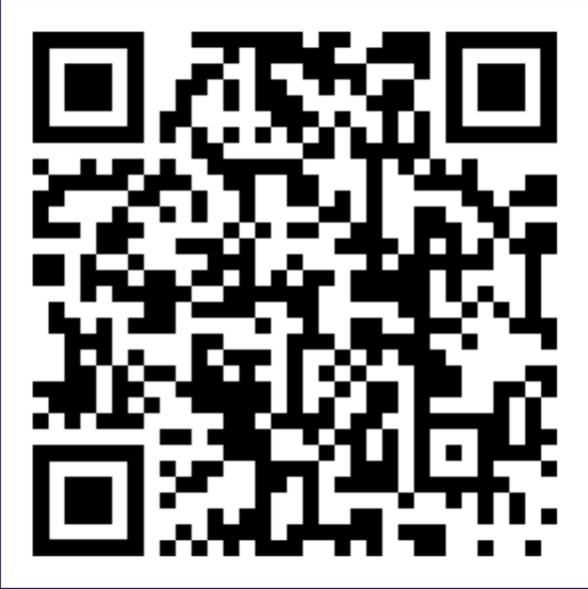 QR code for sign-up