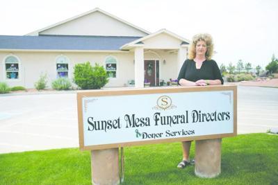 Megan Hess, former Sunset Mesa Funeral Directors owner