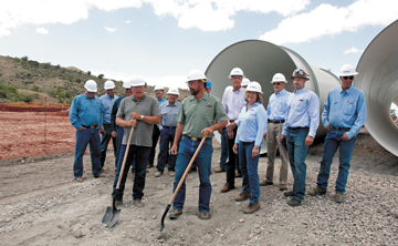 Work begins on $22 million hydro project on South Canal