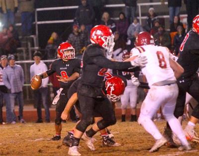 Montrose High School quarterback Keagan Goodwin