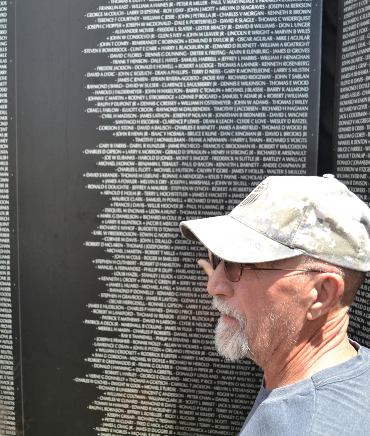 Vietnam Memorial Wall drew thousands over the weekend