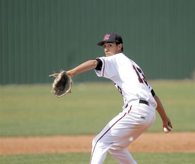 Montrose pitcher Trey Schwerdtfeger