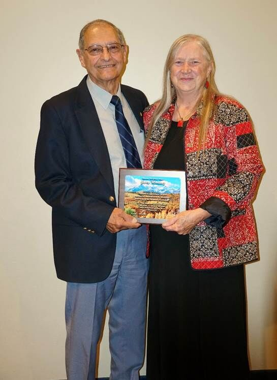 Hospital recognizes Garey Martinez for community contribution; names Dr. Jimmy Gilbert physician of the year