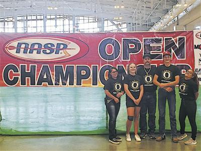 The Olathe High School archery team