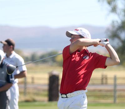 Montrose High School golfer Micah Stangebye