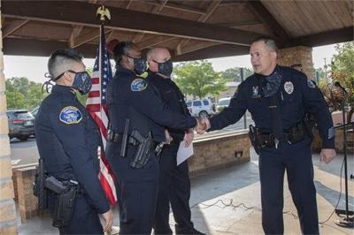 MPD swear in new officers