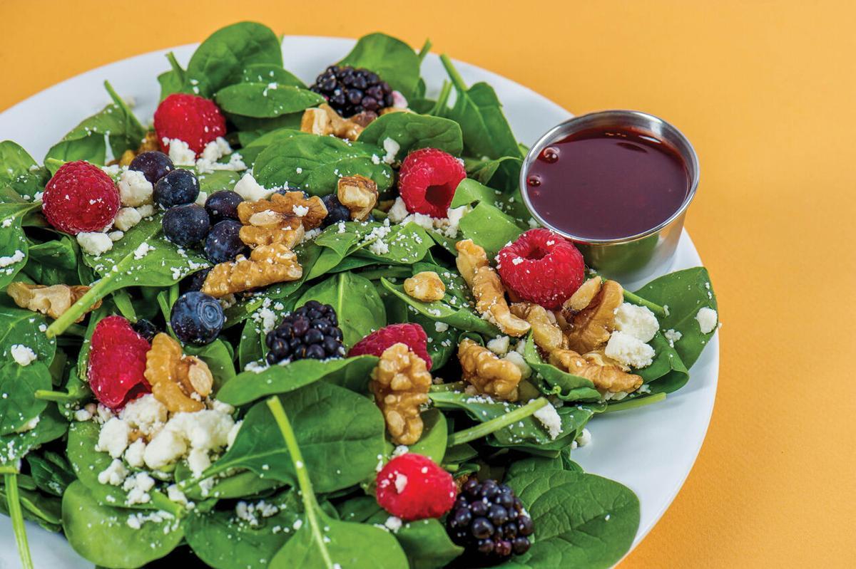 Salad and vinaigrette