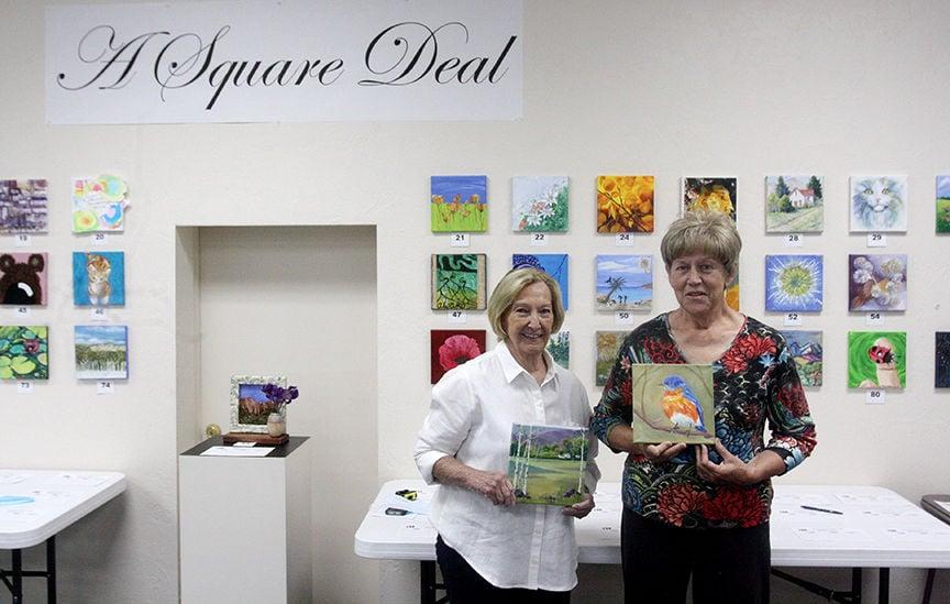 """A Square Deal"" art show"